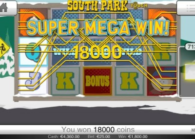South Park Mobil Big Win