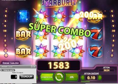 Starburst 3 Wild Big Win