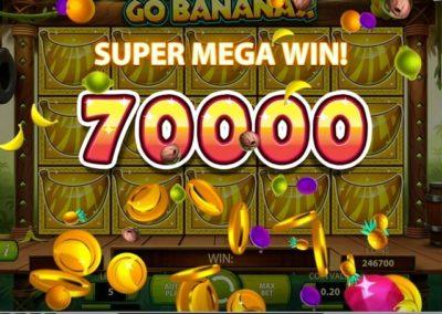 go bananas mega kazanç