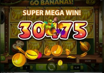 go bananas süper mega kazanç