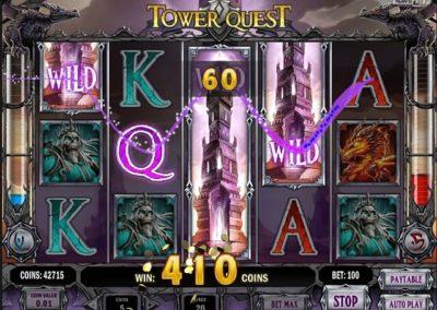 Tower Quest normal oyun büyük kazanç