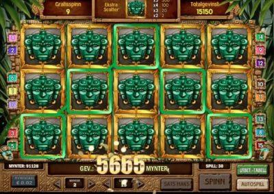 aztec idols mega büyük kazanç